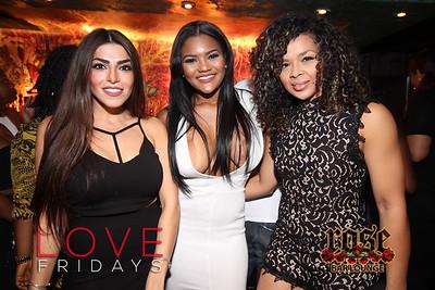 LOVE Fridays at Rose Bar 7/15/16