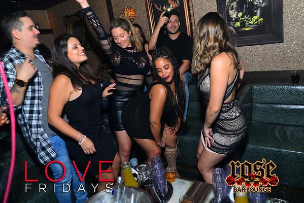 LOVE Fridays @ Rose Bar 10/07/16
