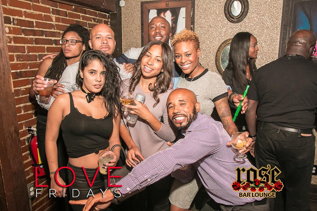 LOVE Fridays @ Rose Bar 10/21/16
