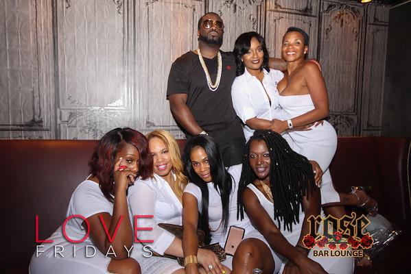 LOVE Fridays at Rose Bar 7/1/16