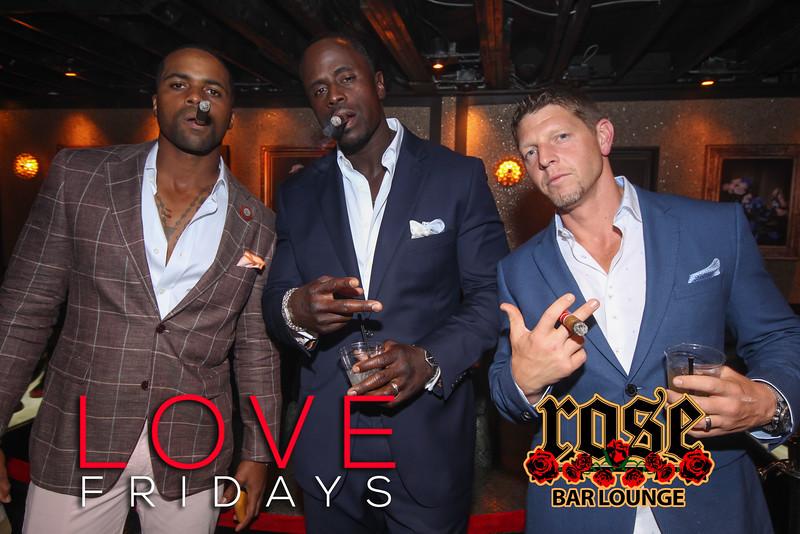 LOVE Fridays at Rose Bar 7/29/16