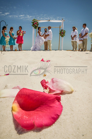 Amy & Al's Emerald Coast Wedding ~ Pensacola Beach