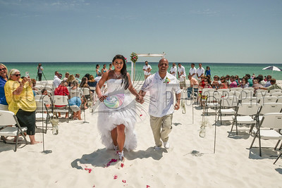 Amy & Al's Emerald Coast Wedding ~ 2016, Pensacola Beach