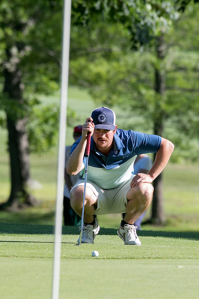The final round of the 94th annual Lowell City Golf Tournament was held at Mt. Pleasant Golf Club on Saturday, June 22, 2019. Golfer John Devito looks over the ninth green. SENTINEL & ENTERPRISE/JOHN LOVE