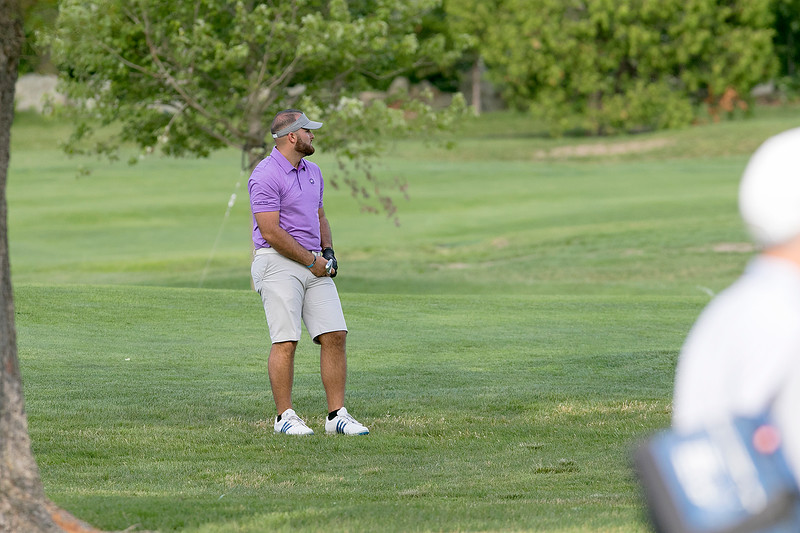 The final round of the 94th annual Lowell City Golf Tournament was held at Mt. Pleasant Golf Club on Saturday, June 22, 2019. Golfer Nick Fantasia watches his second shot on the eighth hole fairway. SENTINEL & ENTERPRISE/JOHN LOVE