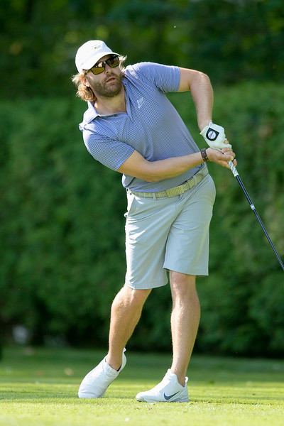 The final round of the 94th annual Lowell City Golf Tournament was held at Mt. Pleasant Golf Club on Saturday, June 22, 2019. Rich Campiola tees off on the eighth hole. SENTINEL & ENTERPRISE/JOHN LOVE