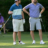 The final round of the 94th annual Lowell City Golf Tournament was held at Mt. Pleasant Golf Club on Saturday, June 22, 2019. Golfer John Devito talks with fellow golfer Rich Campiola before they both teed off on the eighth hole. SENTINEL & ENTERPRISE/JOHN LOVE