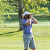 The final round of the 94th annual Lowell City Golf Tournament was held at Mt. Pleasant Golf Club on Saturday, June 22, 2019. Golfer Rich Campiola looks to see how far away the ninth green was while hitting his sceond shot from the fairway. SENTINEL & ENTERPRISE/JOHN LOVE