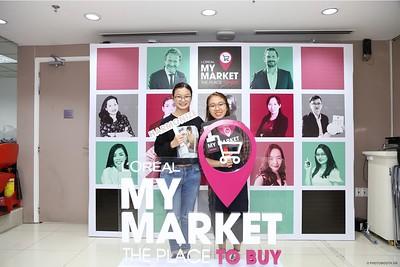 L'Oréal   My Market Day activation instant print photo booth @ Vincom Dong Khoi   Chụp hình lấy liền sự kiện tại TP. HCM   Photobooth Saigon