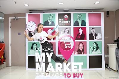 L'Oréal | My Market Day activation instant print photo booth @ Vincom Dong Khoi | Chụp hình lấy liền sự kiện tại TP. HCM | Photobooth Saigon