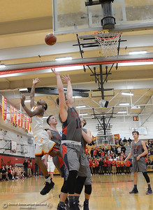 Chico hosts Las Plumas on the basketball court Friday, Feb. 24, 2017, in Chico, California. (Dan Reidel -- Enterprise-Record)