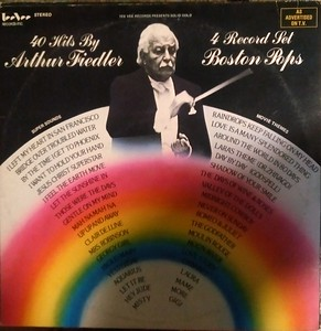 Arthur Fiedler - 4 Record Set Boston Pops