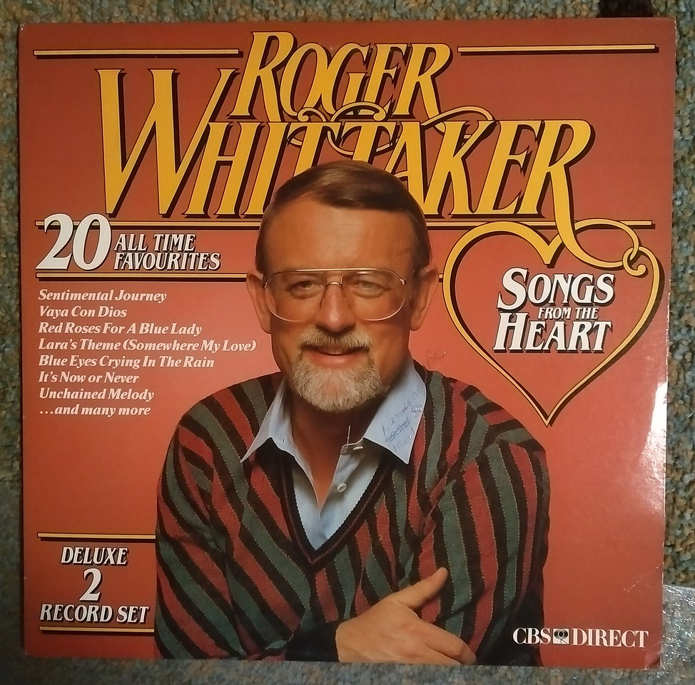 Roger Whittaker – Songs From The Heart