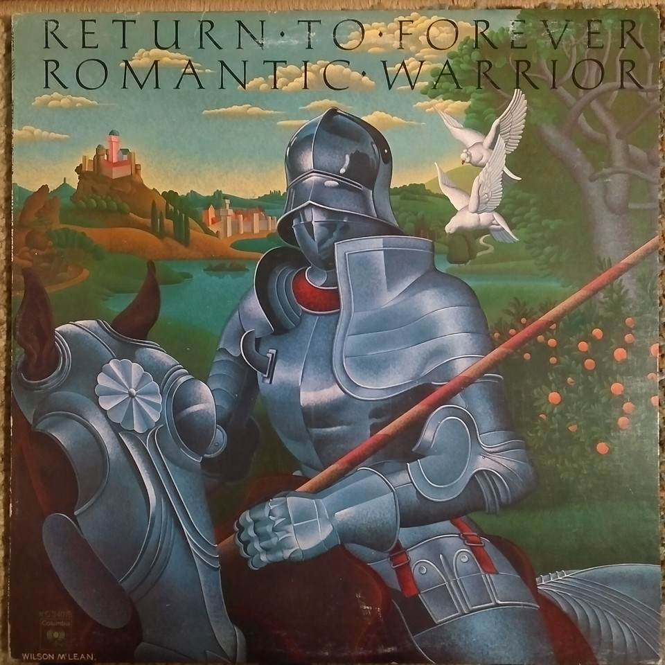 Return To Forever - Romantic Warrior  (Columbia - KC 34076)