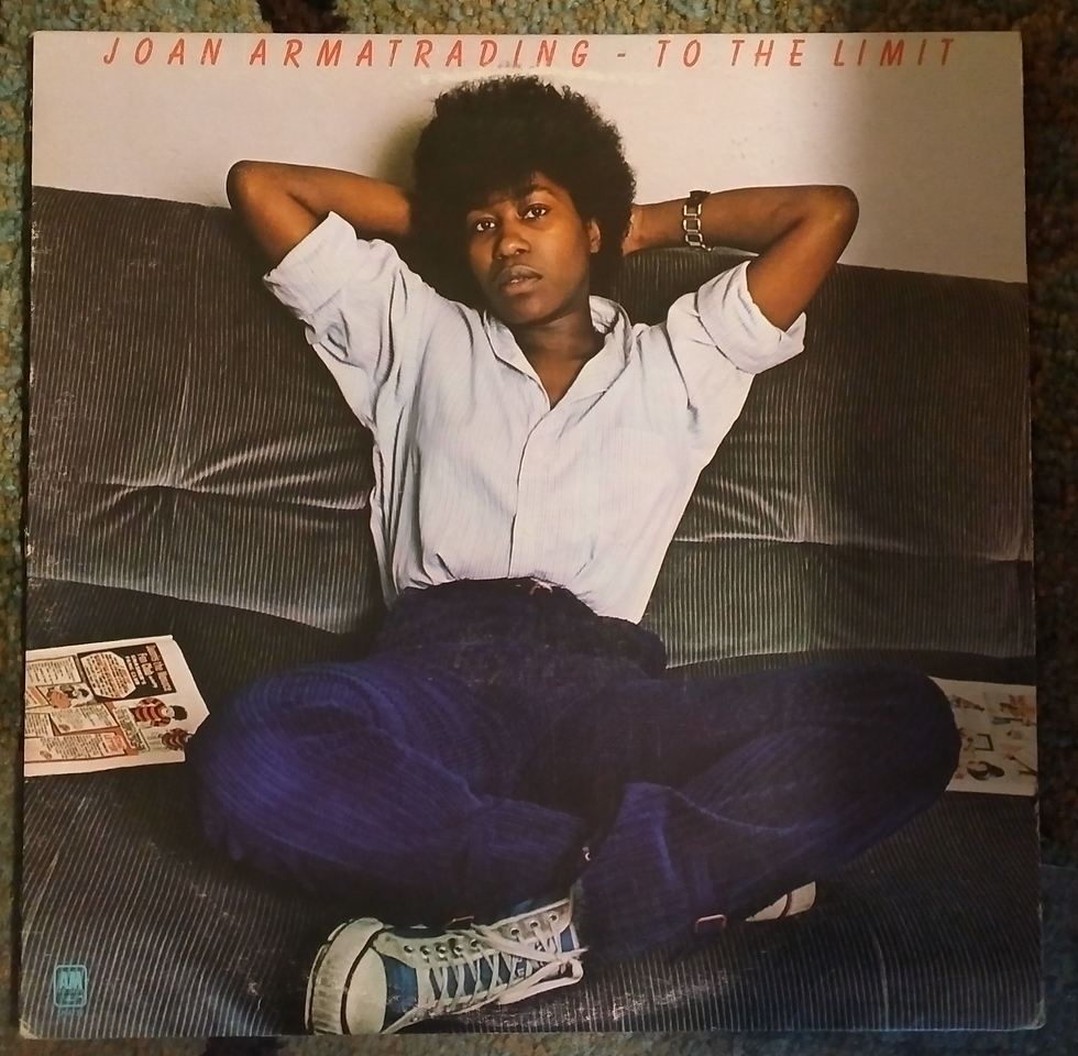 Joan Armatrading - To The Limit  (A&M Records - SP-4732)