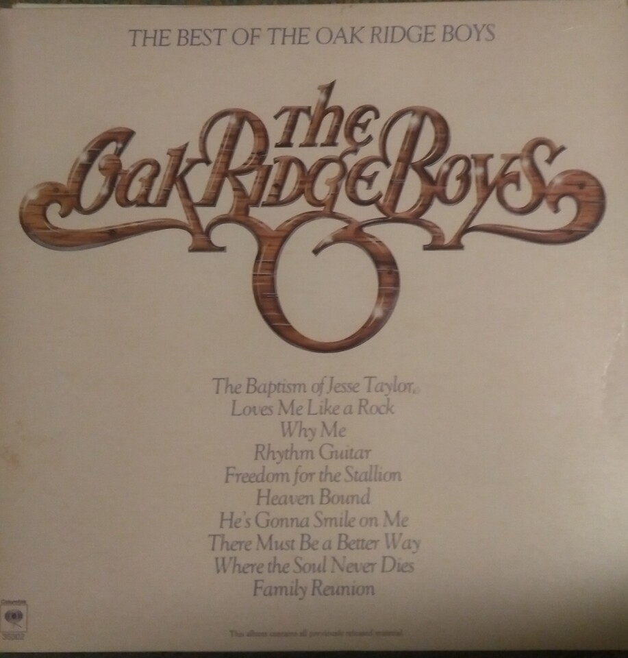 The Oak Ridge Boys - The Best Of The Oak Ridge Boys