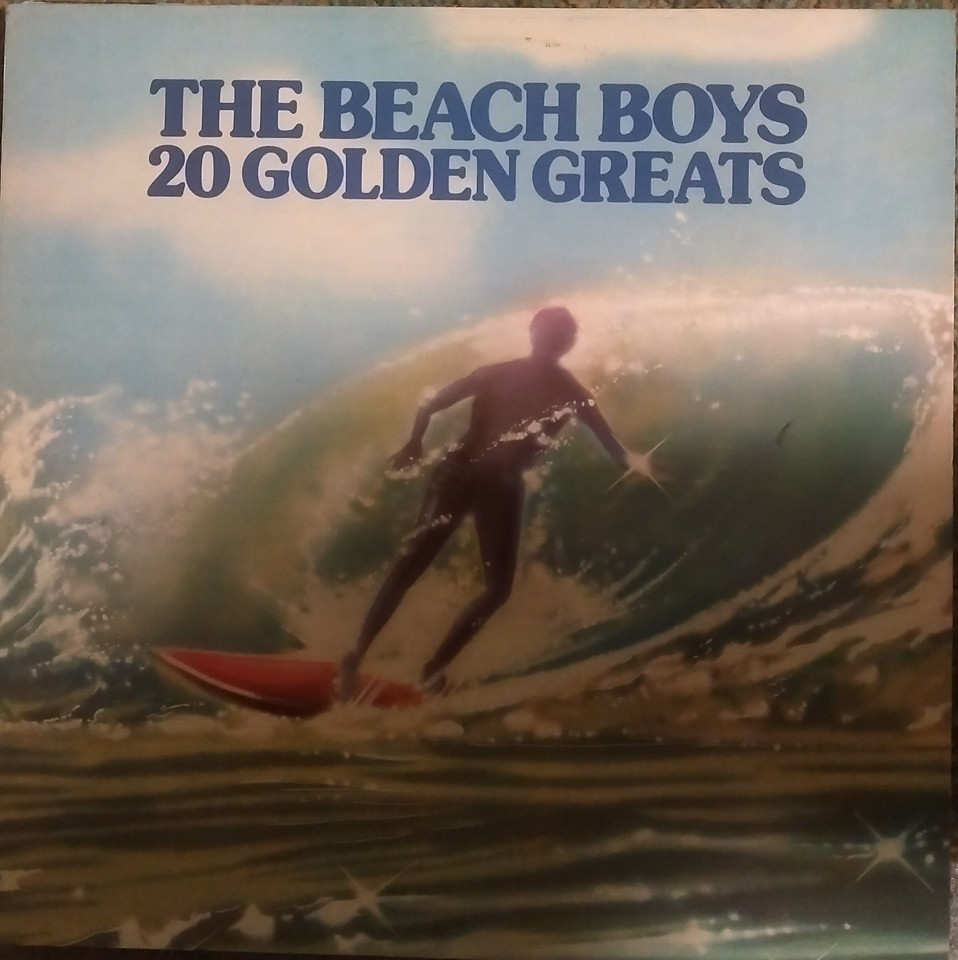 The Beach Boys - 20 Golden Greats (Capitol Records, EMI - EMTV 1, OC 062 o 82232) Media VG  Sleeve VG