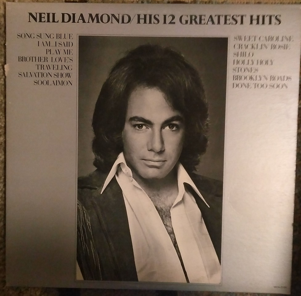 Neil Diamond - His 12 Greatest Hits  (MCA Records - MCA-2106)
