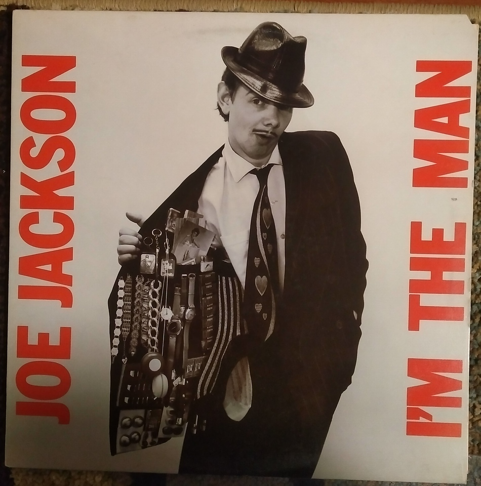 Joe Jackson - I'm The Man  (A&M Records - SP 4794)