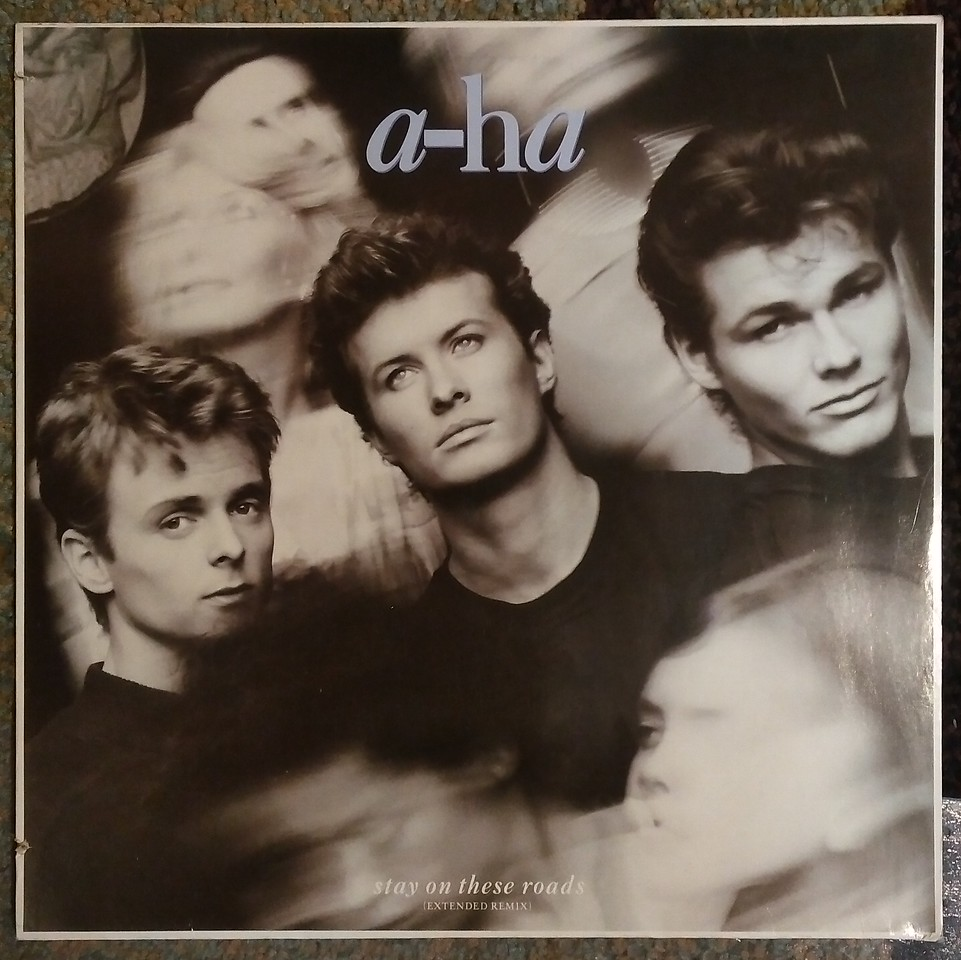 a-ha - Stay On These Roads (Extended Remix) (Warner Bros. Records, Warner Bros. Records, Warner Bros. Records, Warner Bros. Records - W 7936 (T), 920901-0, W7936T, 920 901-0)