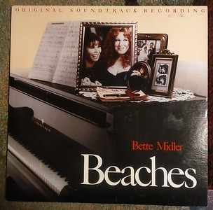 Bette Midler - Beaches (Original Soundtrack Recording) (Atlantic - 78 19331)