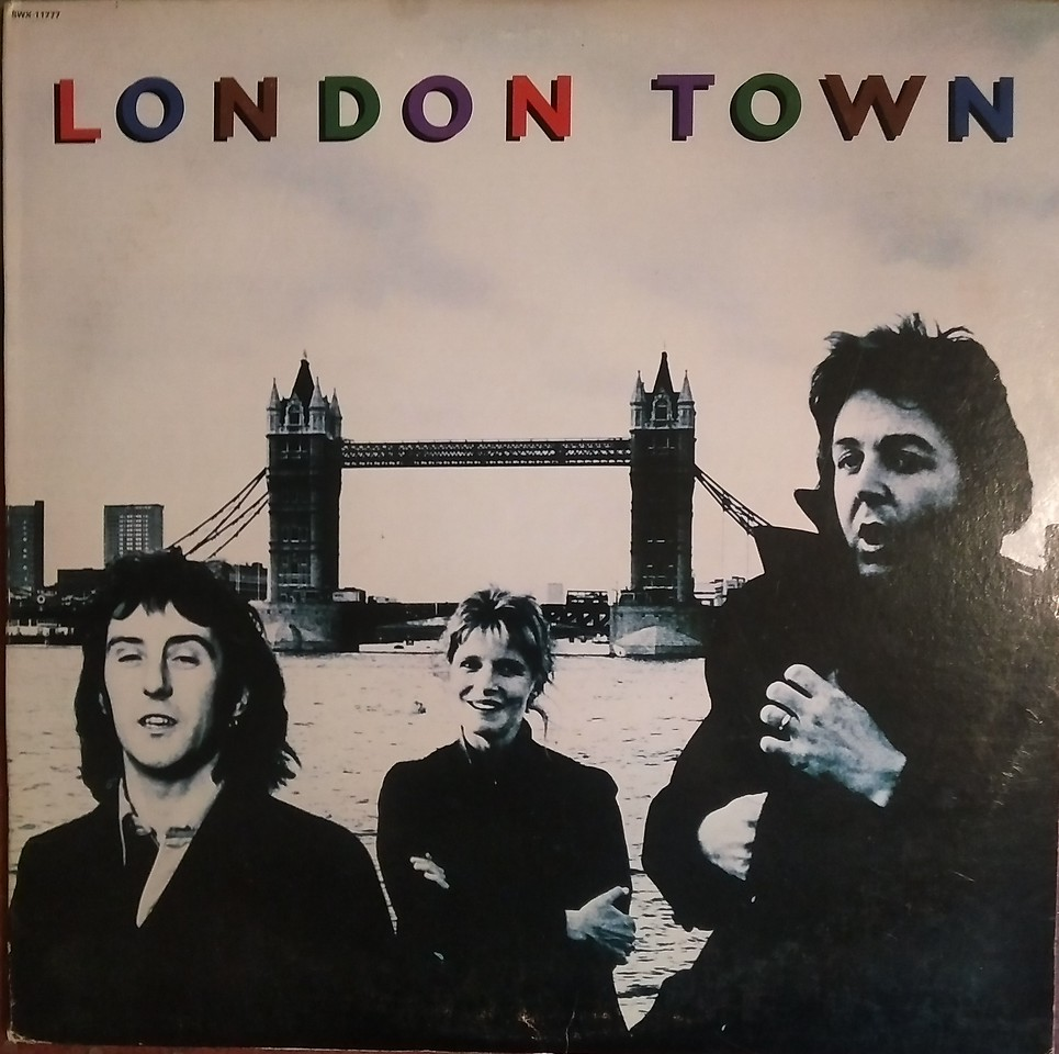 $10  Paul McCartney & The Wings - London Town
