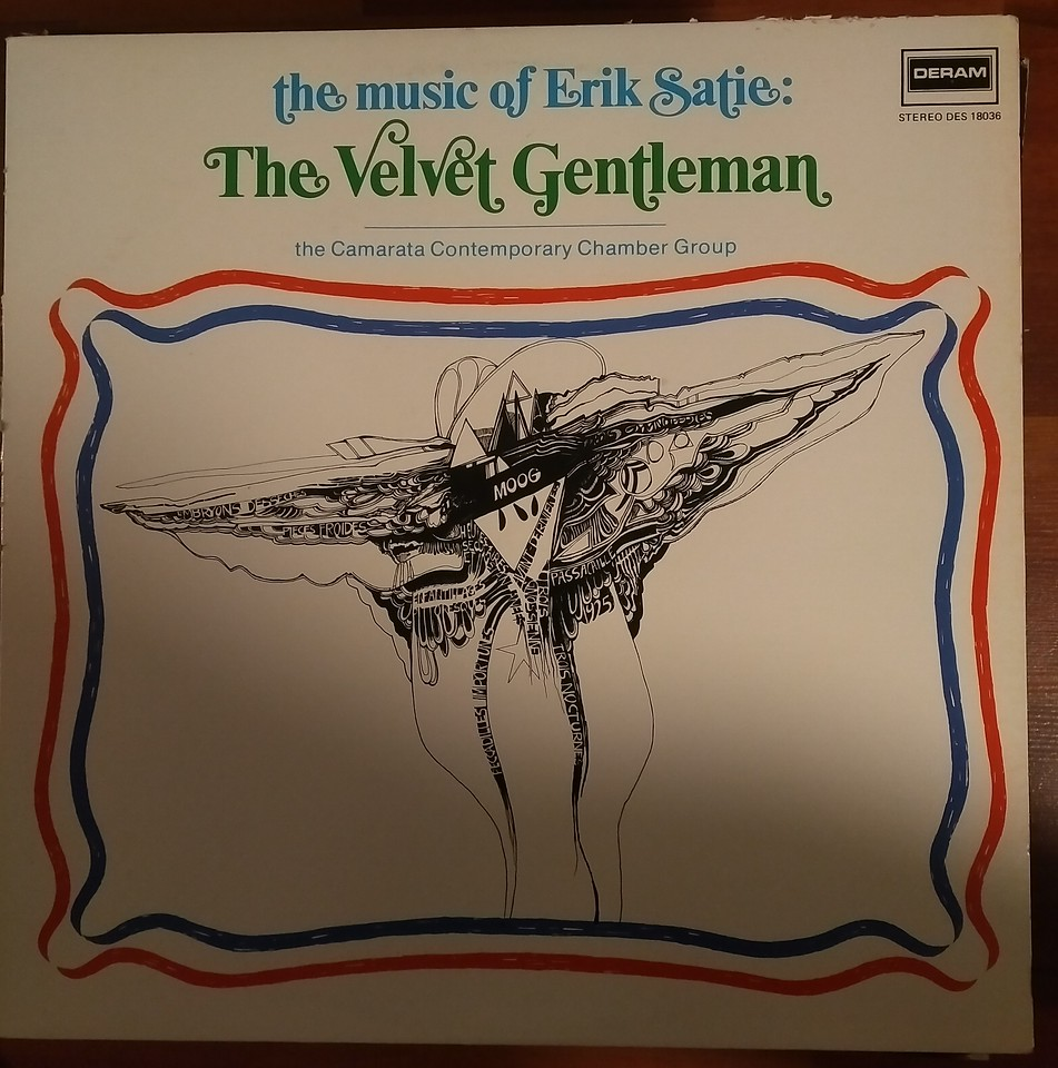 Rated: 4.67  213 have  51 want The Camarata Contemporary Chamber Group, Erik Satie - The Music Of Eric Satie: The Velvet Gentleman