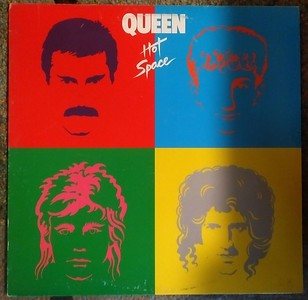 Queen - Hot Space (Elektra - XE1-60128)