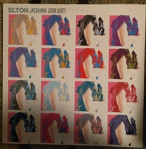 Elton John - Leather Jackets  (The Rocket Record Company - 830 487-1)