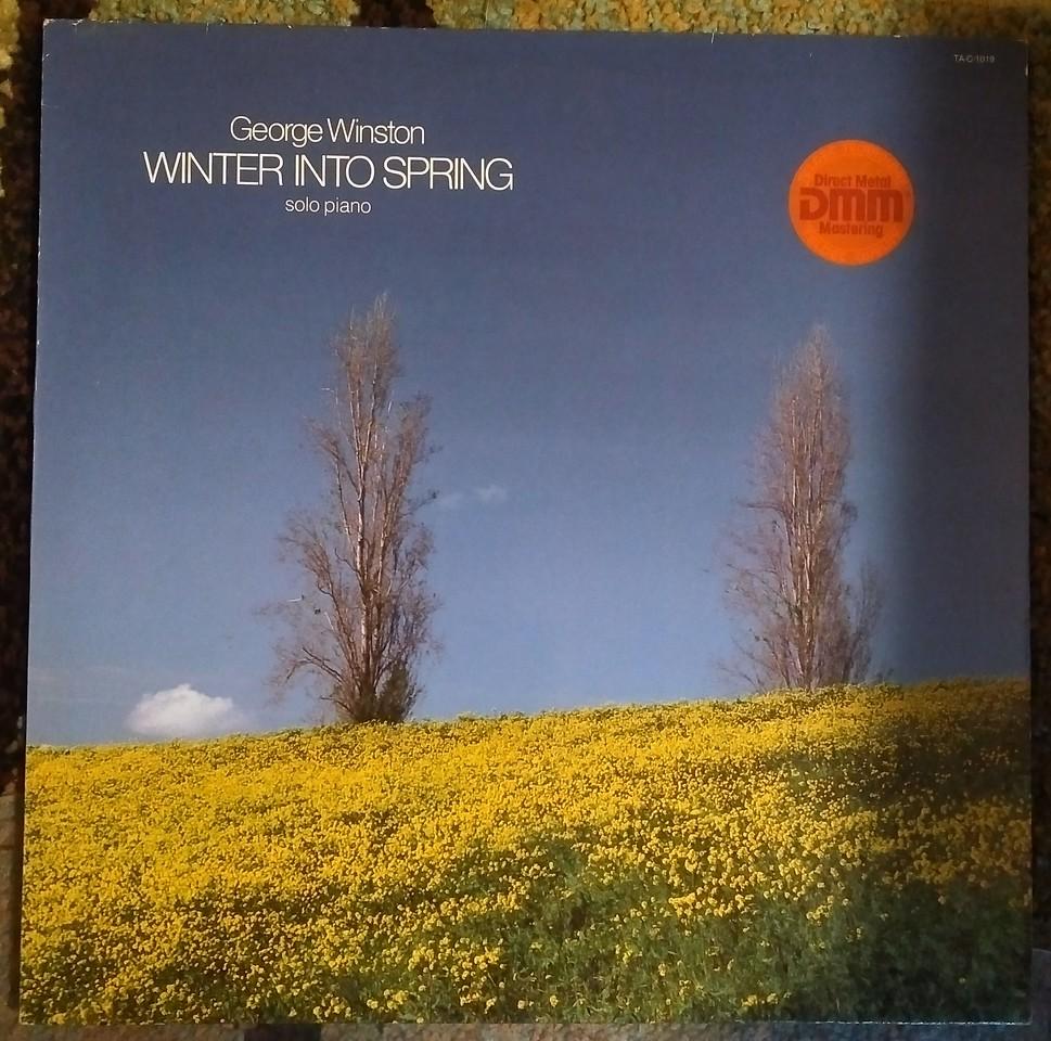 George Winston - Winter Into Spring $20  OBO (Windham Hill Records, TELDEC, TELDEC - TA-C-1019, 6.25992 AP, 6.25 992)