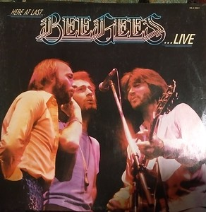 $2  Bee Gees - Here At Last - Live