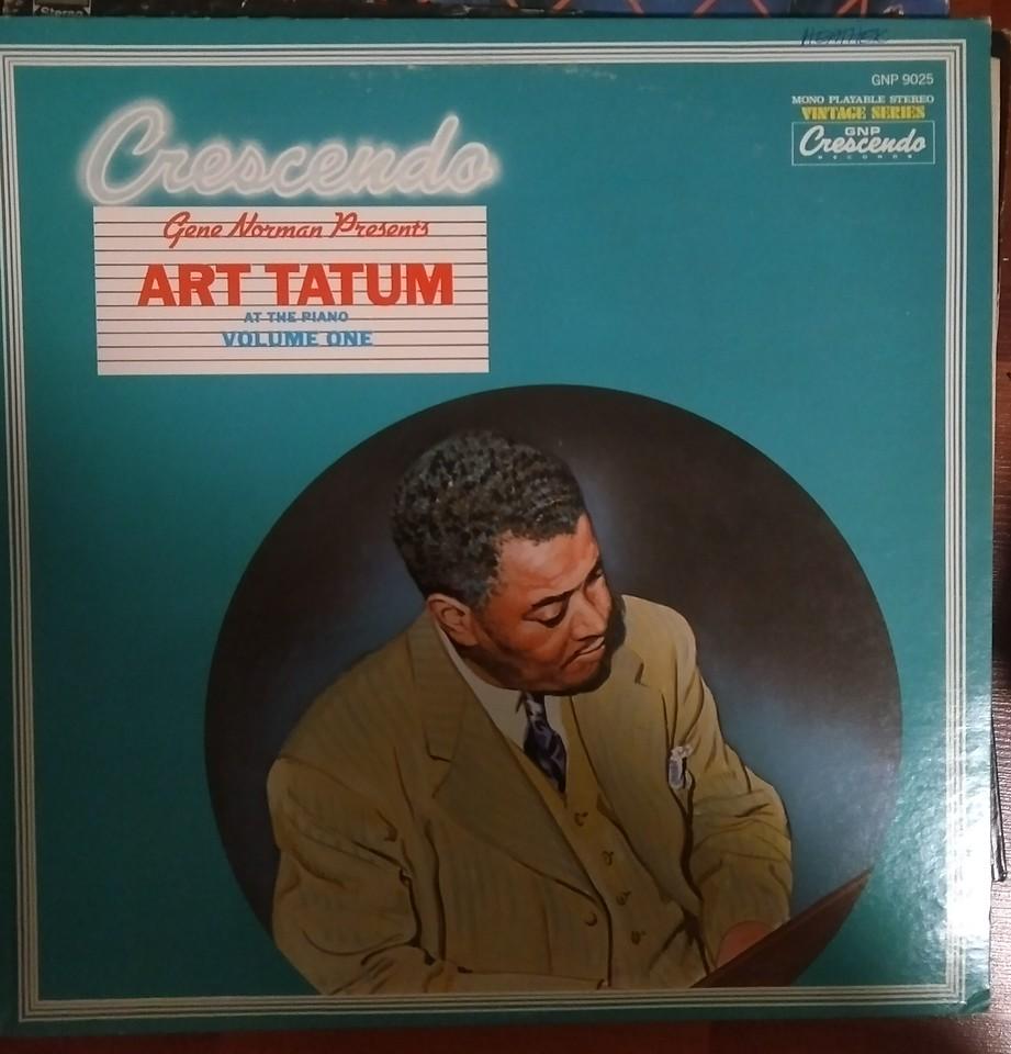 Art Tatum - Art Tatum At The Crescendo Vol. I (GNP Crescendo - GNP 9025)
