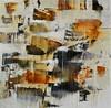 "Inertia #4-Foreman, 50""x50"" painting on canvas"