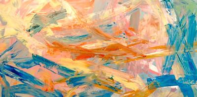 Escapade-Iorillo, 72x36 on canvas