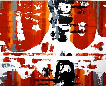 IORILLO_Burnt Orange Wave_42 x 50
