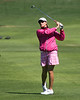 22 MAR 12   Marge Horth from the 18th fairway duringThe First Round of The KIA Classic at La Costa Resort and Spa in La Costa, California.
