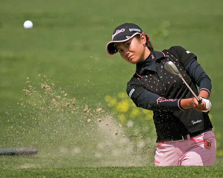 23 MAR 12   Japanese Superstar Ai Miyazato in action during Fridays  Second Round of The KIA Classic at La Costa Resort and Spa in La Costa, California.
