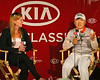 24 MAR 12  Jiyai Shin meets the press after Saturdays Third Round of The KIA Classic at La Costa Resort and Spa in La Costa, California.