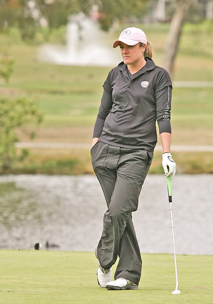 24 MAR 12  Alison Walshe on the 17th fairway in during Sundays Final Round of The KIA Classic at La Costa Resort and Spa in La Costa, California.