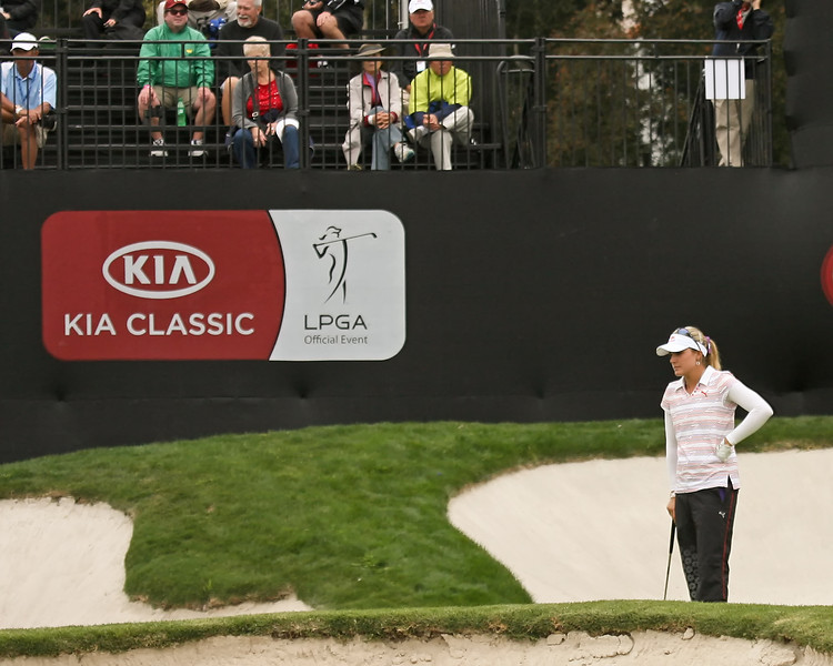 23 MAR 12   Lexi Thompson in action during Fridays  Second Round of The KIA Classic at La Costa Resort and Spa in La Costa, California.