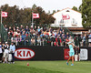 23 MAR 12  Anna Nordqvist on the 1st tee at The Second Round of The KIA Classic at La Costa Resort and Spa in La Costa, California.
