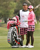 24 MAR 12  Pornanong Phatlum setting the fashion bar high on the 9th fairway at  Sundays Final Round of The KIA Classic at La Costa Resort and Spa in La Costa, California.