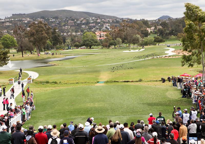 24 MAR 12  Jiyai Shin on the 10th tee during Sundays Final Round of The KIA Classic at La Costa Resort and Spa in La Costa, California.