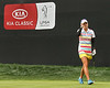 24 MAR 12  Lexi Thompson thanks the gallery on the 18th green during Sundays Final Round of The KIA Classic at La Costa Resort and Spa in La Costa, California.