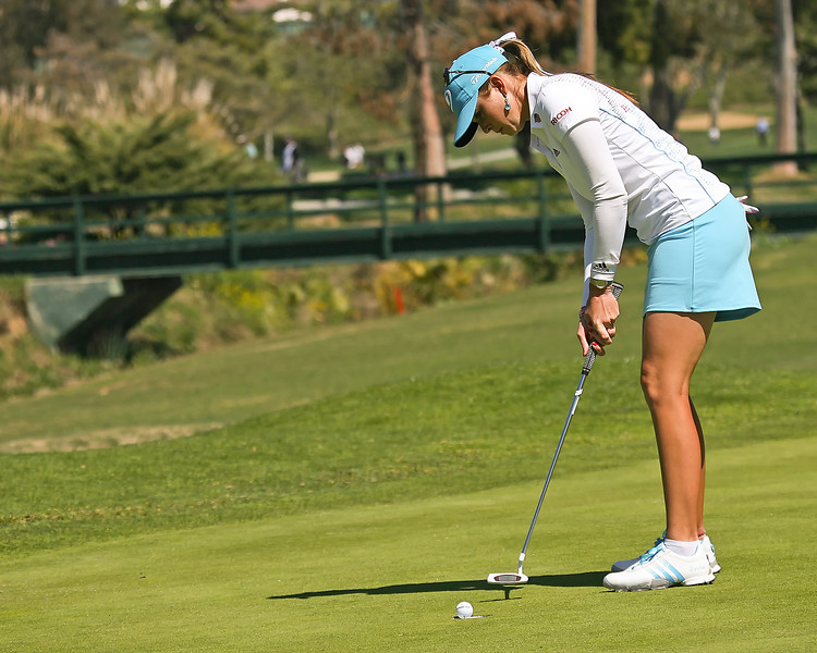 22 MAR 12  Paua Creamer for birdie at The First Round of The KIA Classic at La Costa Resort and Spa in La Costa, California.
