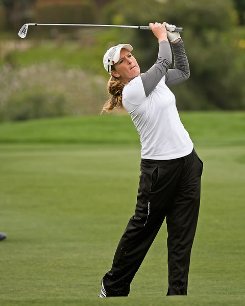 23 MAR 12   Rhode Islander Anna Grzebien in action during Fridays  Second Round of The KIA Classic at La Costa Resort and Spa in La Costa, California.