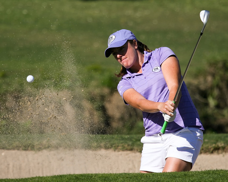 22 MAR 12  Alison Walshe saves par with a great bunker shot at The First Round of The KIA Classic at La Costa Resort and Spa in La Costa, California.