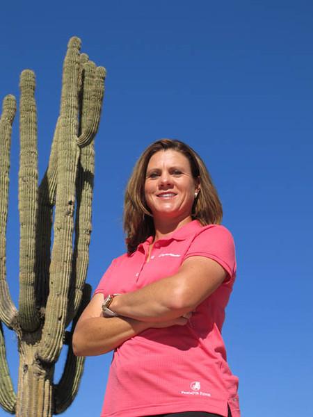 04 FEB 12  LPGA Pro AJ Eathorne in Scottsdale, Arizona.