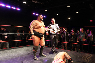 Live Pro Wrestling from the Black Box March 12, 2017 Josh Briggs vs. Ace Romaro