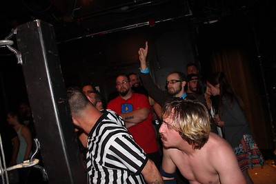 New England Tag Team Championship New England Tag Team Champions Middlesex Express vs. Mack Attack vs. Manstahe